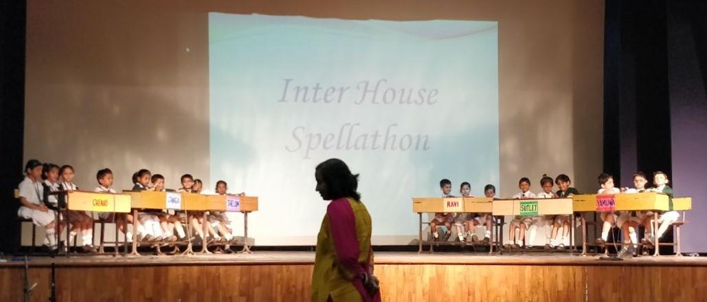 Inter House Spellathon